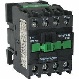 Пускатели, контакторы и аксессуары - Контактор E 1НО 32А 400В AC3 110В 50Гц, 0