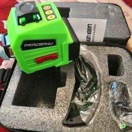 Измерительные инструменты и приборы - уровень лазерный 3 полных плоскости по 360градусов, 0