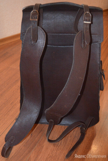 Кожаный рюкзак по цене 12000₽ - Рюкзаки, фото 0
