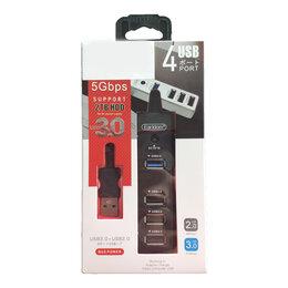 USB-концентраторы - USB-Хаб EARLDOM ET-HUB07 4 порта, чёрный, USB 3.0, 0