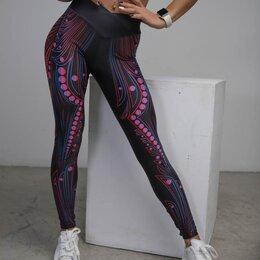 Спортивные костюмы - Легинсы для фитнеса с перфорацией, 0
