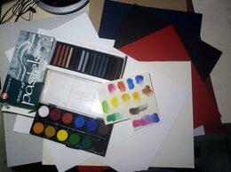 Рисование - Акварель, пастель, бумага и кисть., 0