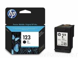 """Картриджи - Картридж HP """"123"""" F6V17AE Black, 0"""