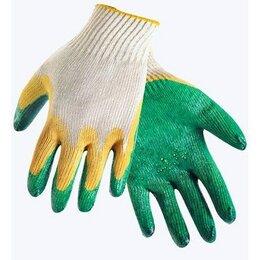 Средства индивидуальной защиты - Перчатки ХБ 2й облив латексом 13 класс (зеленый…, 0