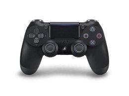 Аксессуары - Геймпад PS4 джойстик DualShock 4 чёрный , 0