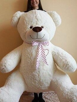 Мягкие игрушки - Плюшевый медведь 190 см с сердцем, 0