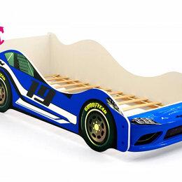 Кроватки - Кровать-машина Супра, синий, 0