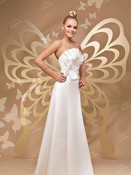 Платья - Новое свадебное платье To be Bride а-силуэт, 0