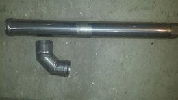 Дренажные системы - Труба вентиляционная для котла отопления с уголком, 0