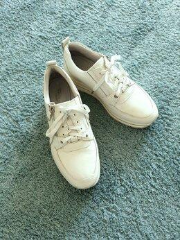 Кроссовки и кеды - Кожаные женские кроссовки, 37 размер, белые., 0