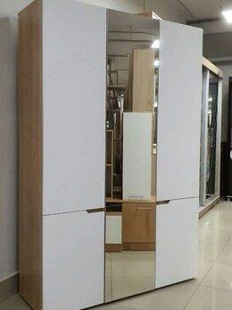 Шкафы, стенки, гарнитуры - Шкаф Анталия 3-х створчатый с зеркалом (Дуб…, 0