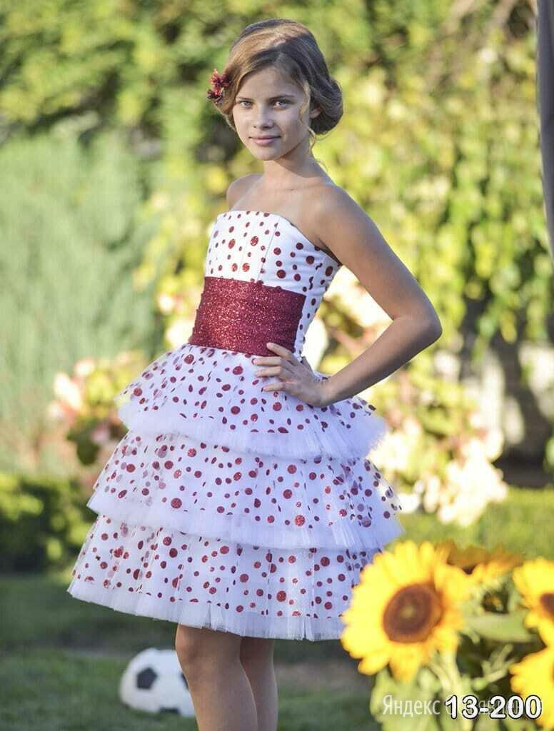 Праздничное платье для очаровательной  принцессы по цене 3800₽ - Платья и сарафаны, фото 0