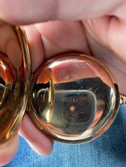 Карманные часы - Золотые часы 585 проба 130 грамм, 0