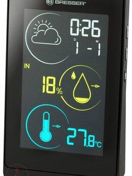Метеостанции, термометры, барометры - Метеостанция BRESSER Temeo Life H, черный, 0