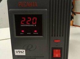 Стабилизаторы напряжения - Ав78, стабилизатор напряжения Ресанта 2000w, 0