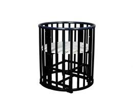 Кроватки - Кровать Incanto Mimi 7 в 1 колеса (венге), 0