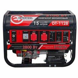 Электрогенераторы - Генератор бензиновый INTERTOOL DT-1128 , 0