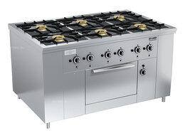 Промышленные плиты - Плита газовая Вулкан ПРГ-IIA-6 ДШ Maxi, 0