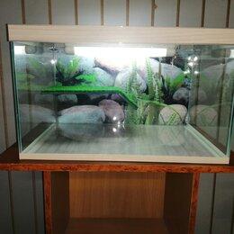 Аквариумы, террариумы, тумбы - Террариум для красноухой черепахи , 0