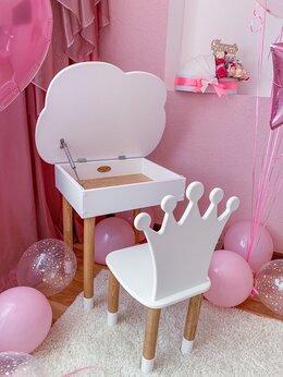Столы и столики - Детский стол пенал и стульчик, 0