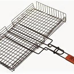 """Решетки - Решетка-гриль глубокая """"Picnic"""", с антипригарным покрытием (45х25 см), 0"""