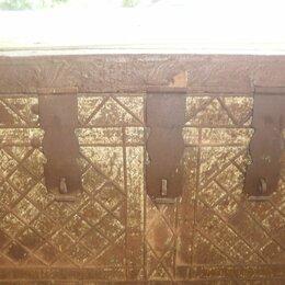 Сундуки - сундук старинный 19го века, 0