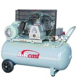 Воздушные компрессоры - Компрессор с ременной передачей СБ4/С-100.LB40…, 0