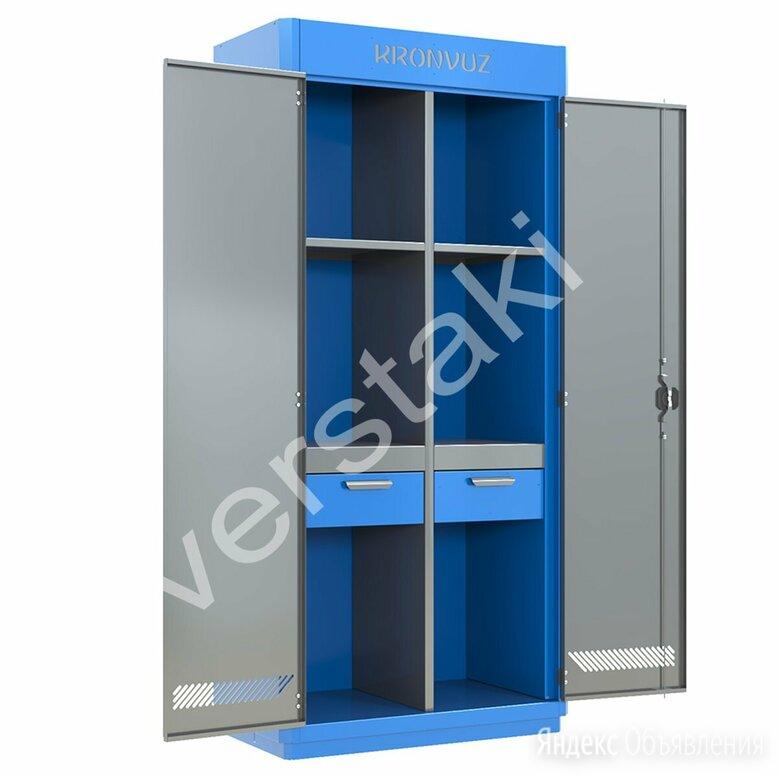 Металлический шкаф для инструмента KronVuz Box 1242-01 по цене 51130₽ - Шкафы для инструментов, фото 0