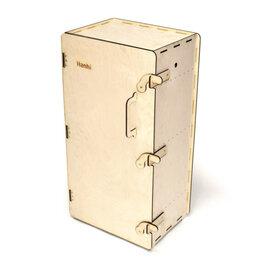 Грили, мангалы, коптильни - Деревянный коптильный шкаф Hanhi, 0