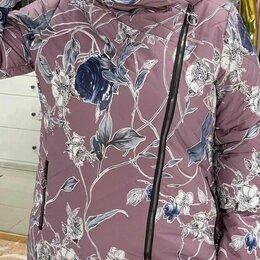 Куртки - Женская зимняя куртка с косой молнией., 0