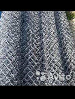 Сетки и решетки - Рабица сетка оцинкованная высотой 1.5 метра, 0