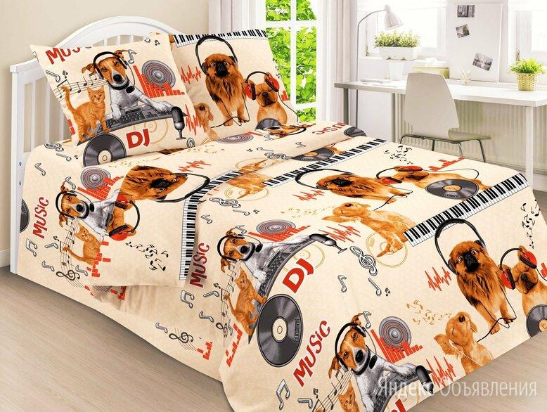 1.5 спальное постельное белье по цене 1200₽ - Постельное белье, фото 0