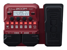 Процессоры и педали эффектов - ZOOM B1X FOUR Процессор мультиэффектов для…, 0