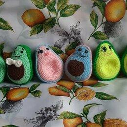Мягкие игрушки - Авокадо вязаная игрушка , 0