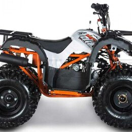 Электромобили - Детский квадроцикл KAYO (Кайо) Bull - 110 (машинокомплект), 0