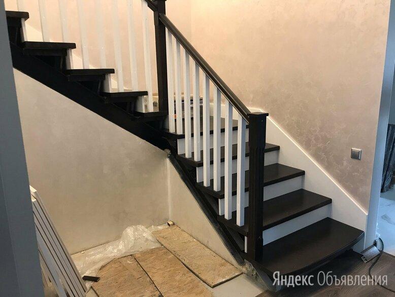 Лестница на второй этаж в частном доме  по цене 60000₽ - Лестницы и элементы лестниц, фото 0