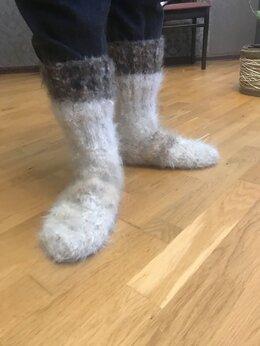 Носки - Носки из собачей шерсти, 0