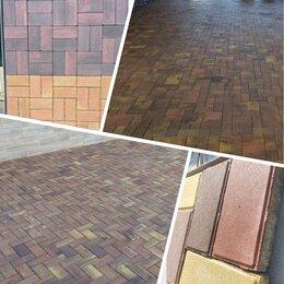 Тротуарная плитка, бордюр - Тротуарная плитка, бордюры различные , 0