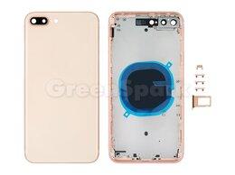 Корпусные детали - Корпус для iPhone 8 Plus (золото), 0