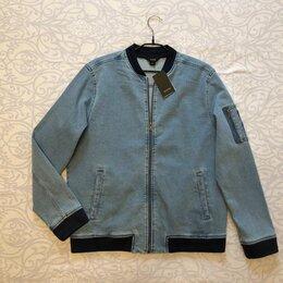 Куртки -  50-52 размер  180 рост джинсовая куртка-бомбер Ostin новая, 0