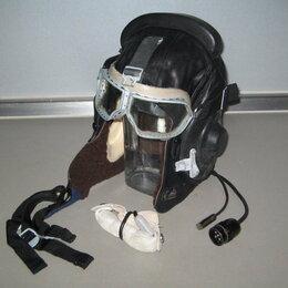 Головные уборы - Шлем лётный кожаный, 0