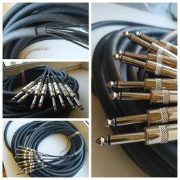 Оборудование для звукозаписывающих студий - Мультикор 1/2/4/8/16/32 jack XLR Hermitage Vintage Cable, 0