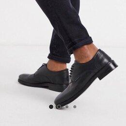 """Ботинки - Чёрные мужские кожаные туфли на шнуровке «Ben Sherman"""". , 0"""