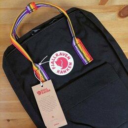 Рюкзаки - Рюкзак Kanken Classic Rainbow (Black), 0