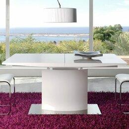 Столы и столики - Обеденный стол раздвижной 180-220 см белый ESF, 0