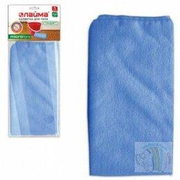 Тряпки, щетки, губки - Тряпка для мытья пола ЛАЙМА плотная микрофибра,…, 0