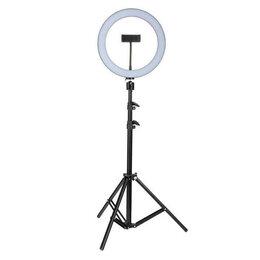 Фотоаппараты - Кольцевая лампа со штативом 32 см, 0