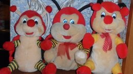 Мягкие игрушки - Весёлая семейка, 0