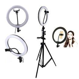 Фотоаппараты - Световое кольцо со штативом D36см (штатив - 110см), 0