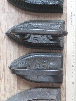 Утюги - утюги коллекционные 4 шт, старинные, 0